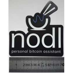 Black nodl magnet (big)